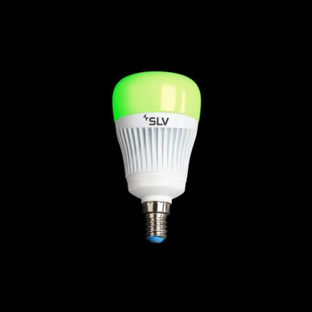 SLV 1002522 Play LED Leuchtmittel E14 RGBW 240° 7.5W Smart Home steuerbar