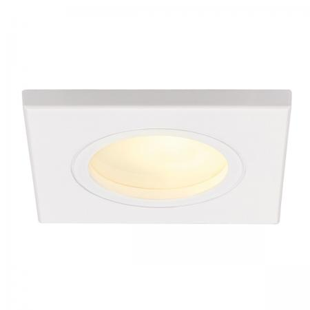 SLV 111141 DOLIX GU10 SQUARE Downlight, eckig, weiss, max. 35W