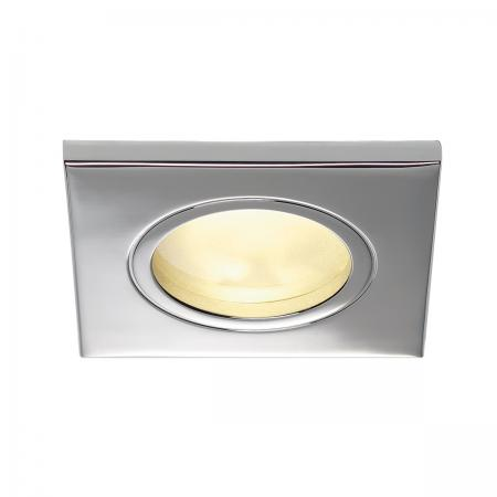 SLV 111142 DOLIX GU10 SQUARE Downlight, eckig, chrom, max. 35W