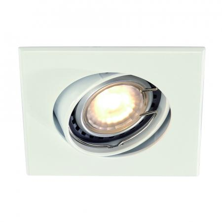SLV 113211 GU10 SP SQUARE Downlight, eckig, weiss, GU10, max. 50W