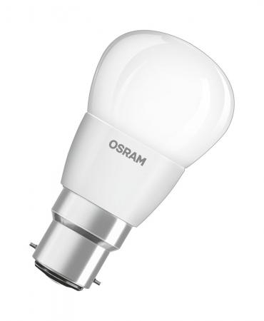 OSRAM Superstar P40 5.4W LED Lampe B22d dimmbar 2700K A+