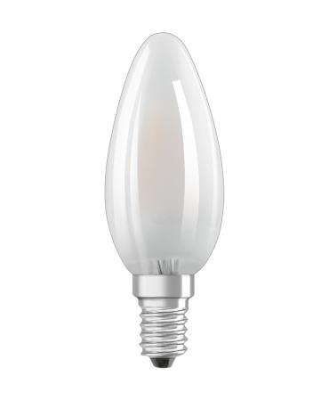 470 Lumen Osram LED HD Lighting B40 MATT E14 5W 2700K 90Ra wie 40W