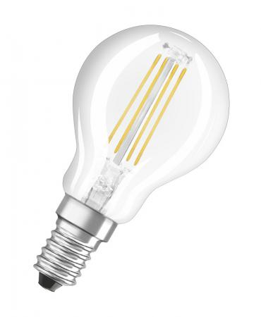 Philips LED E14 Filament Windstoß Kerze Lampe 4W = 25W Warmweiß Dimmbar Warmglow