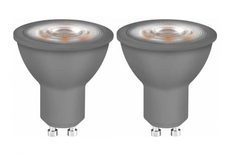 OSRAM LED BASE PAR16 GU10 LED Strahler 4.7W=50W 36° 2700K 2er-PACK