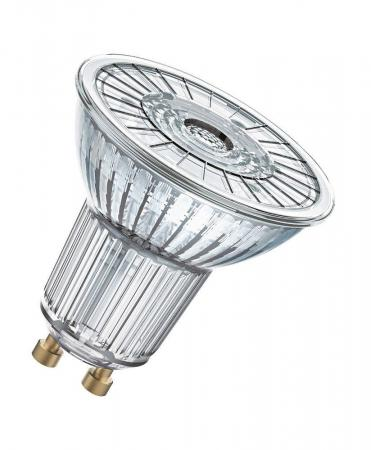 10 x OSRAM LED BASE PAR16 GU10 LED Strahler 4.3W=50W 36° 2700K GLAS
