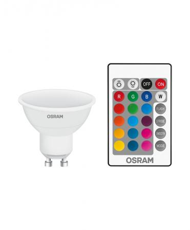 osram led star rgbw par16 25 120 remote gu10 strahler. Black Bedroom Furniture Sets. Home Design Ideas