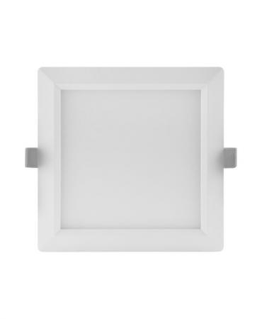 LEDVANCE Downlight LED Slim SQ210 Eckig 18W 3000K LED Panel weiß