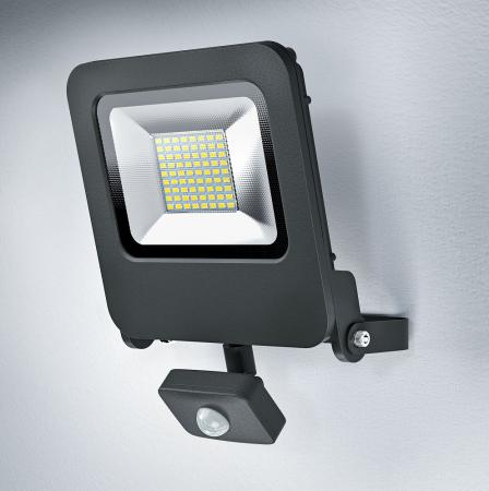 Osram ENDURA FLOOD SENSOR LED 50W DG 3000K Fluter Floodlight IP44 grau