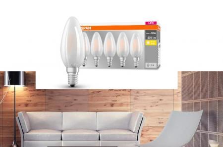 Led E14 Kerze Kronleuchter ~ E14 led kerzenlampen als ersatz für 15w bis 40w glühkerzen