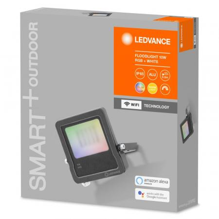 LEDVANCE SMART+ Outdoor Strahler WiFi RGBW 10 Watt 630 lm IP65