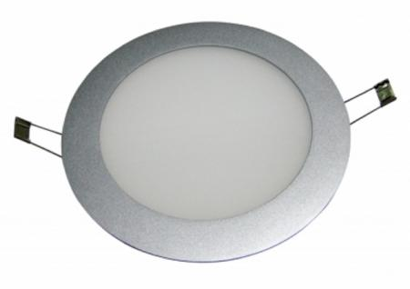 BIOLEDEX 10W LED Panel Superslim Rund 840Lm Milchglas Weiss 5.500K
