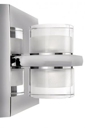 philips instyle darius 372451113 led deckenleuchte 4 x 2 5w chrom. Black Bedroom Furniture Sets. Home Design Ideas