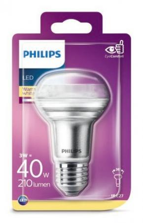 PHILIPS LED Strahler R63 E27 3W (40W) 36° 2700K