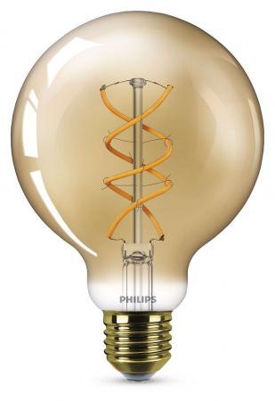 Perfect Lumen Philips Ledclassic G Filament E Globe Lampe W K Wie W With  Globe Lampe