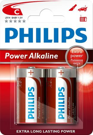 PHILIPS C Power Alkali 2er Pack Batterie LR14P2B/10