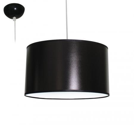 bioledex aniso pendelleuchte stoff design dunkel grau e27 35cm l110921. Black Bedroom Furniture Sets. Home Design Ideas