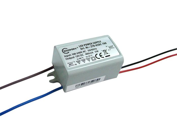 Bioledex® 12v dc trafo bis 5w für led lampen