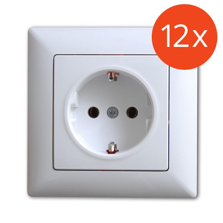 Visage Schalter Ein-//Ausschalter mit Beleuchtung Weiss