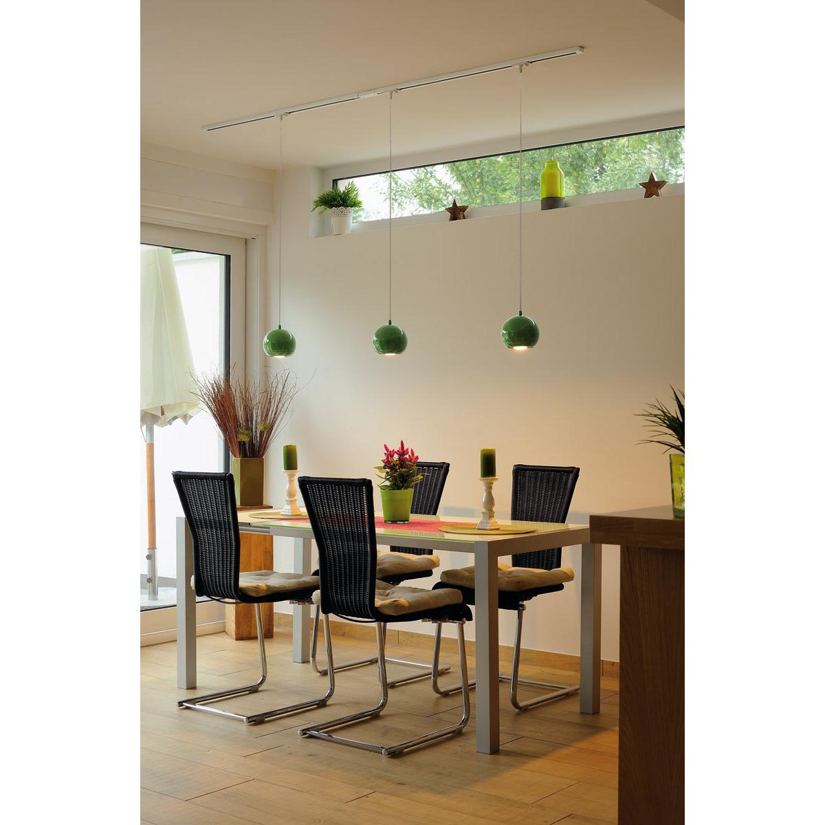slv 143625 light eye es111 pendelleuchte farngr n gu10 max 75w inkl 1p adapter. Black Bedroom Furniture Sets. Home Design Ideas