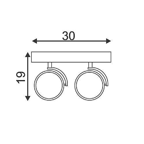 slv 147260 kalu 2 wand und deckenleuchte mattschwarz 2xqrb111 max 50w. Black Bedroom Furniture Sets. Home Design Ideas