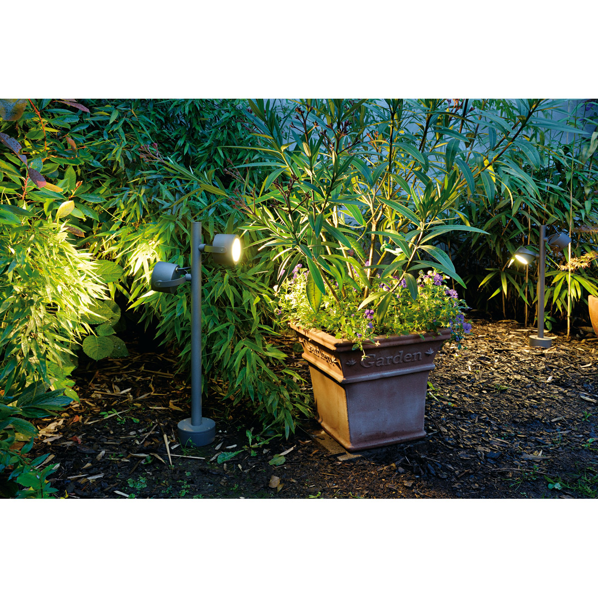 slv 231504 sitra 360 sl aussenleuchte steingrau gx53. Black Bedroom Furniture Sets. Home Design Ideas