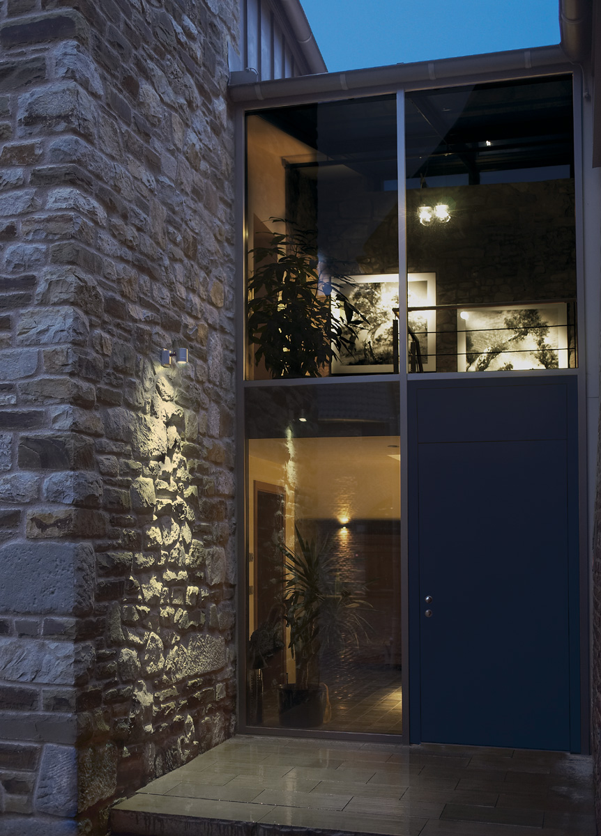 slv 233104 new myra wall wandleuchte silbergrau gu10. Black Bedroom Furniture Sets. Home Design Ideas