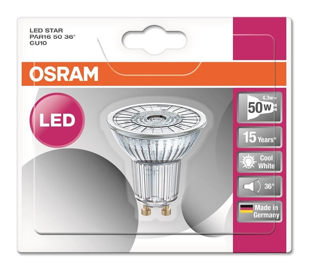 Osram Led Star Par16 : osram led star par16 50 36 gu10 strahler neutralwei 4000k wie 50w ~ Watch28wear.com Haus und Dekorationen