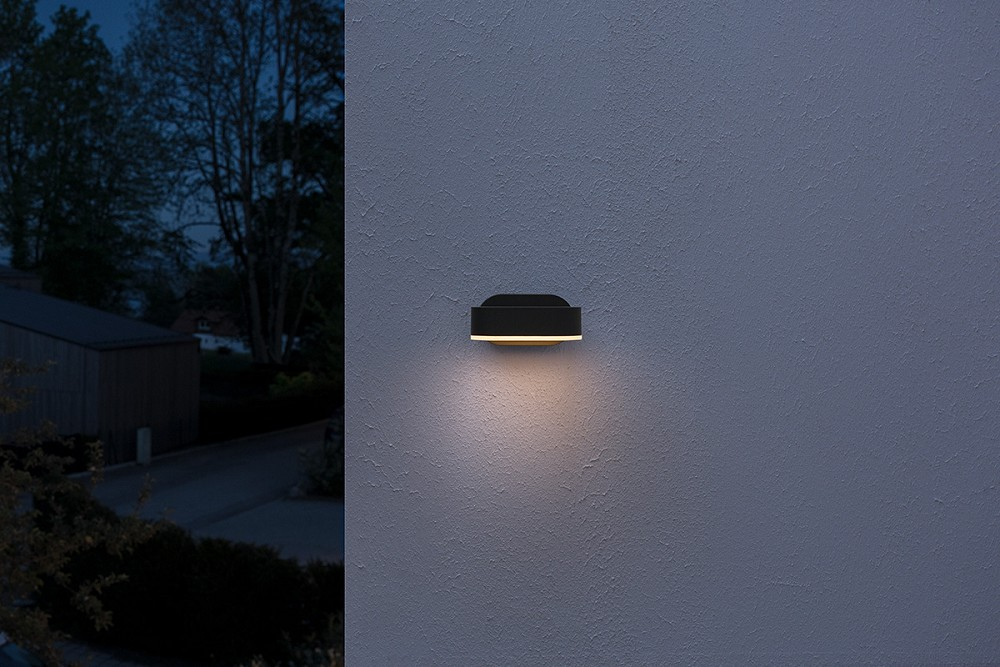 OSRAM ENDURA STYLE LED Mini Spot I 8 Watt Dunkelgrau 320 Lumen warm white IP44
