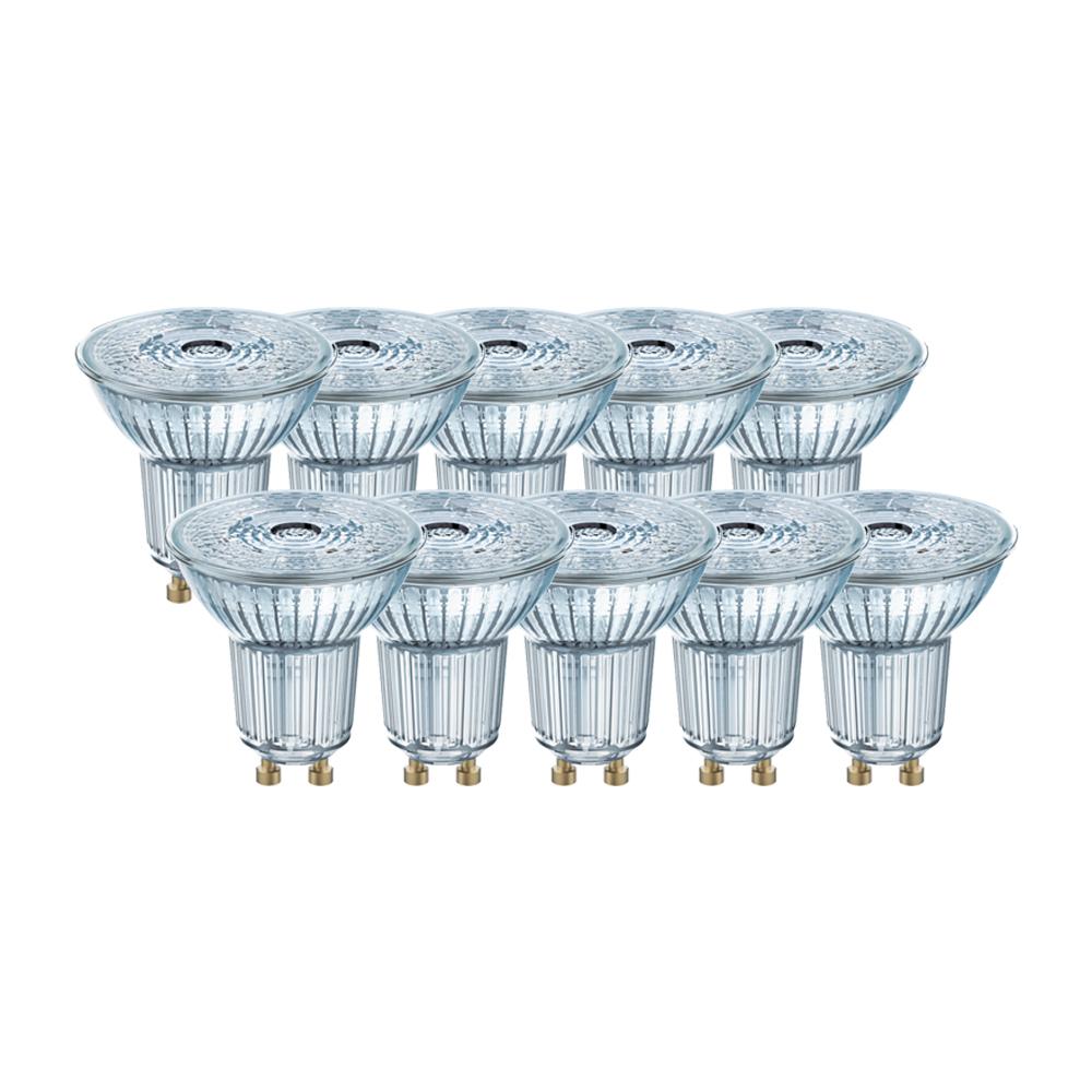 osram led base par16 gu10 led strahler 4 3w 50w 36 4000k. Black Bedroom Furniture Sets. Home Design Ideas