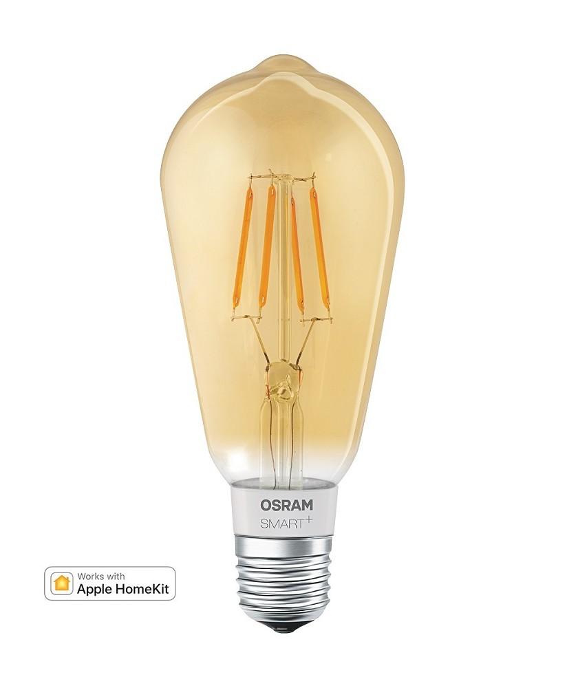 Led Lampe Für Apple Homekit Osram Smart Filament Edison E27 Gold