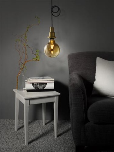 410 Lumen Osram LED VINTAGE 1906 ST64 E27 Filament 2400K wie 35W