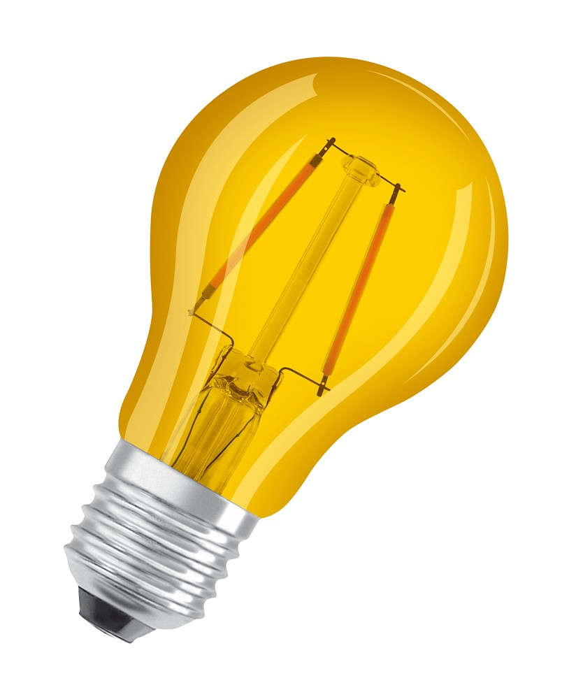 osram led star a decor 2w e27 lichtfarbe gelb. Black Bedroom Furniture Sets. Home Design Ideas
