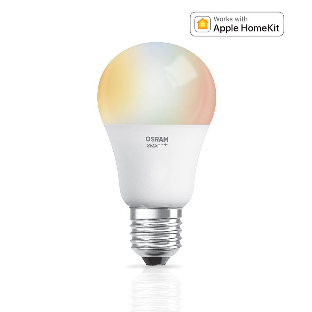osram smart classic a60 rgbw e27 multicolor apple homekit. Black Bedroom Furniture Sets. Home Design Ideas