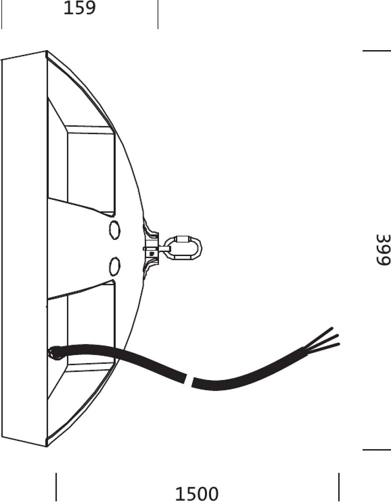 Osram Siteco Compact HIGH BAY L LED Hallenleuchte 220W 4000K 28600 ...