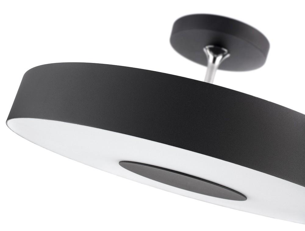 philips instyle alexa 302063016 energiespar deckenleuchte schwarz 1x60w. Black Bedroom Furniture Sets. Home Design Ideas