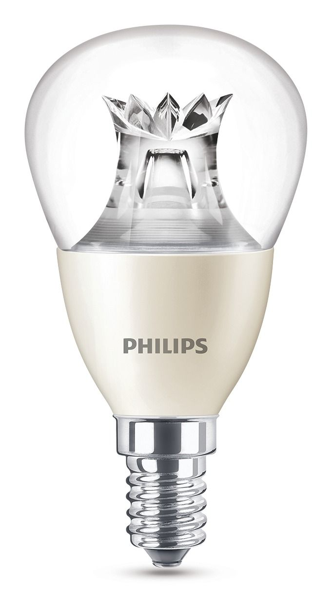 470 lumen philips led p48 warmglow e14 tropfen 6w 2200 2700k klar wie 40w. Black Bedroom Furniture Sets. Home Design Ideas