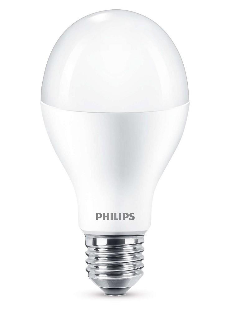 2000 lumen philips led a60 e27 lampe 18 5w 2700k wie 120w. Black Bedroom Furniture Sets. Home Design Ideas
