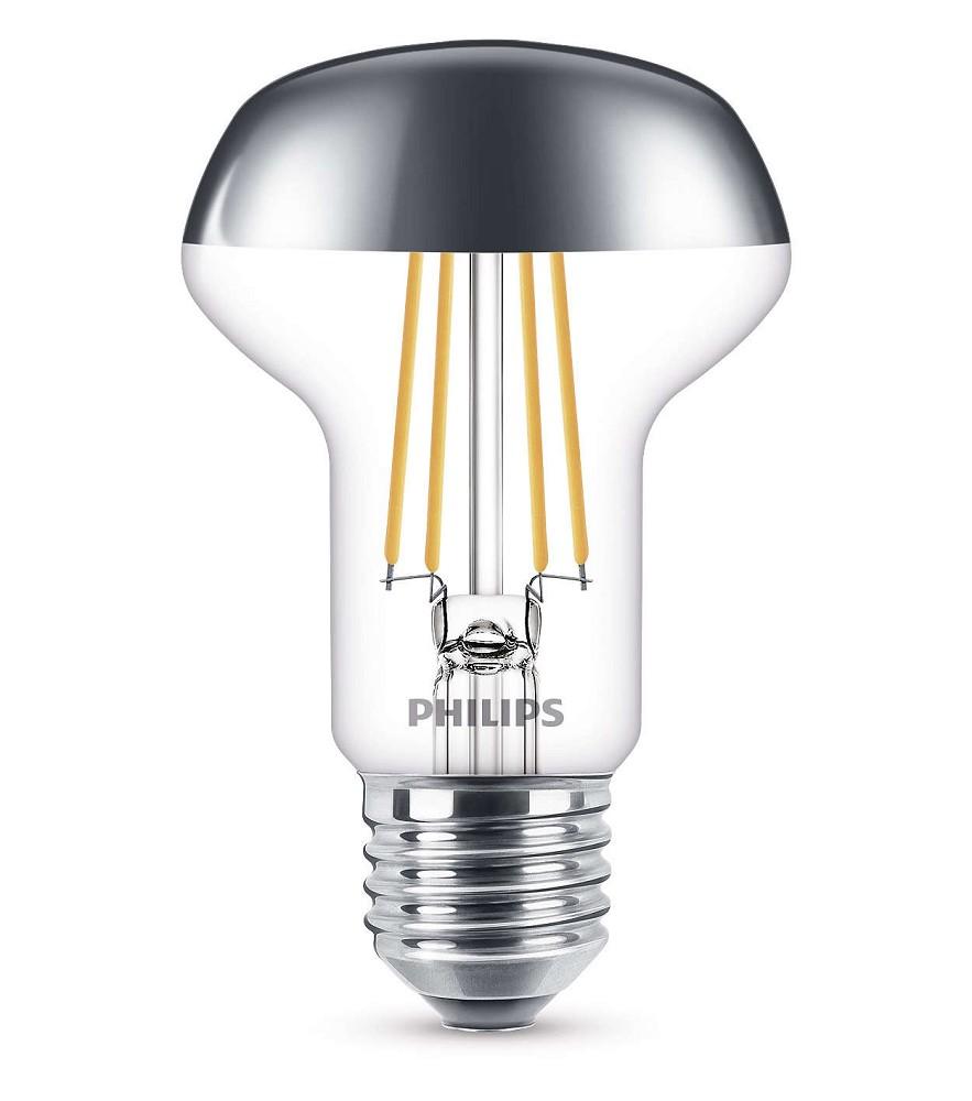 philips led r63 e27 reflektor 4w 36 2700k wie 42w. Black Bedroom Furniture Sets. Home Design Ideas