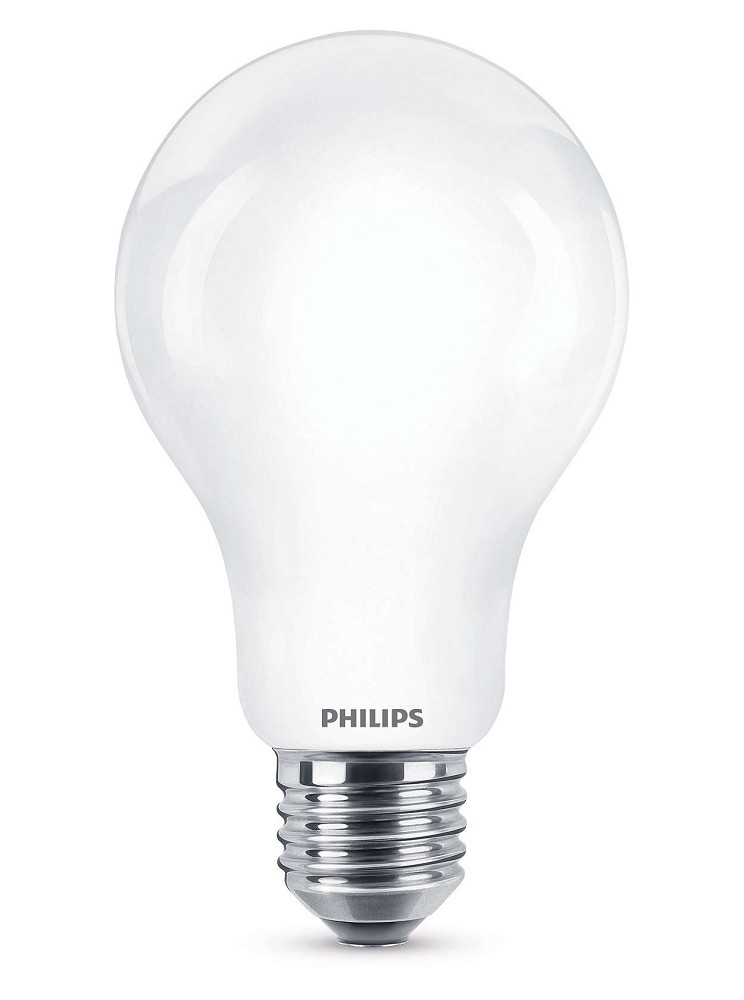 1521 lumen philips led a60 e27 lampe 11 5w 2700k wie 100w. Black Bedroom Furniture Sets. Home Design Ideas
