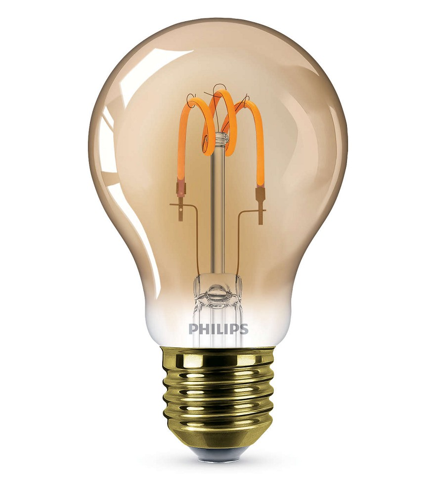 125 lumen philips ledclassic a60 filament e27 lampe 2 3w 2000k wie 14w. Black Bedroom Furniture Sets. Home Design Ideas