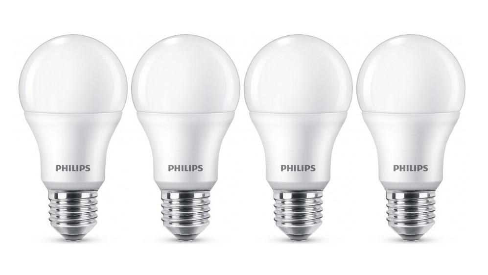 Super 806 Lumen PHILIPS LED-Lampe E27 9W Warmweiß 4er Pack EF-46