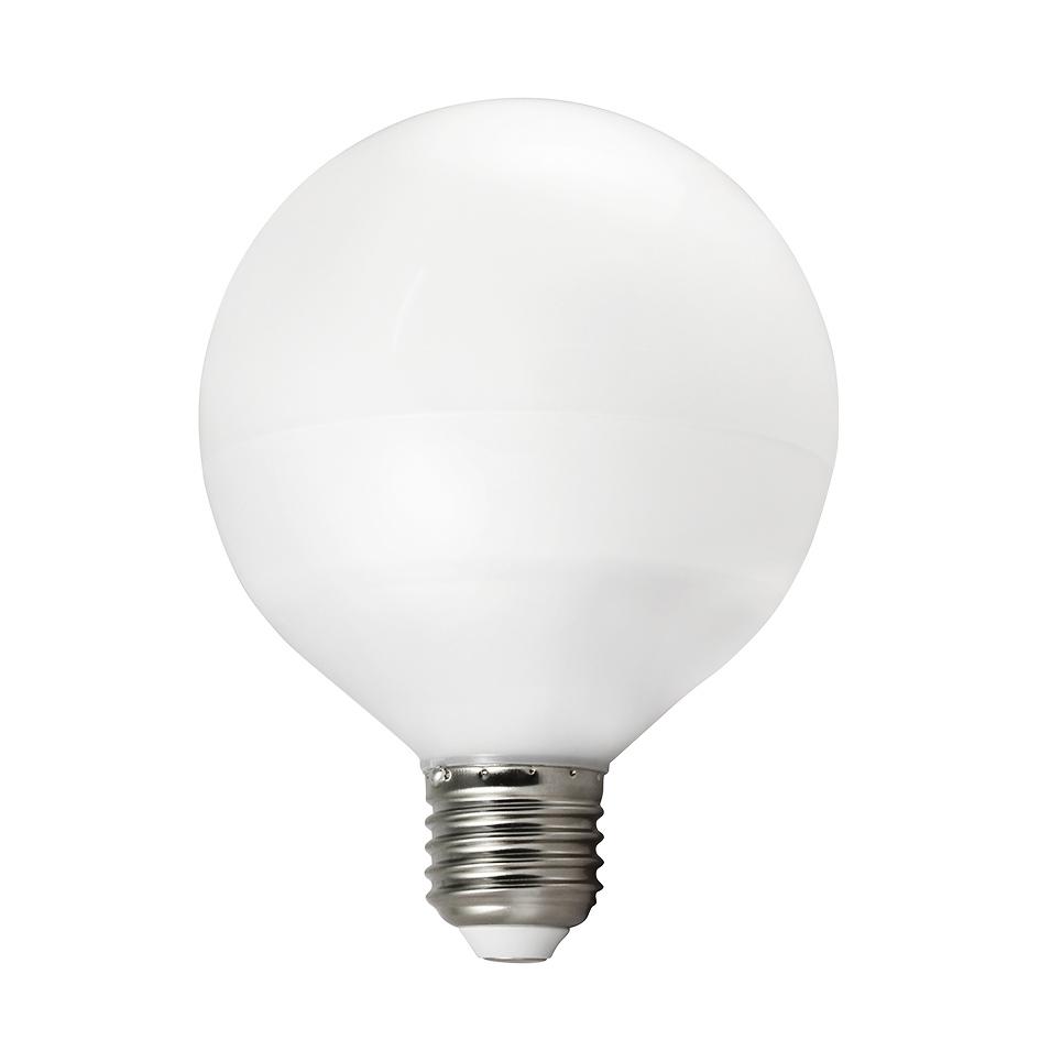 1100 Lumen BIOLEDEX LED Globe E27 13W warmweiß G95