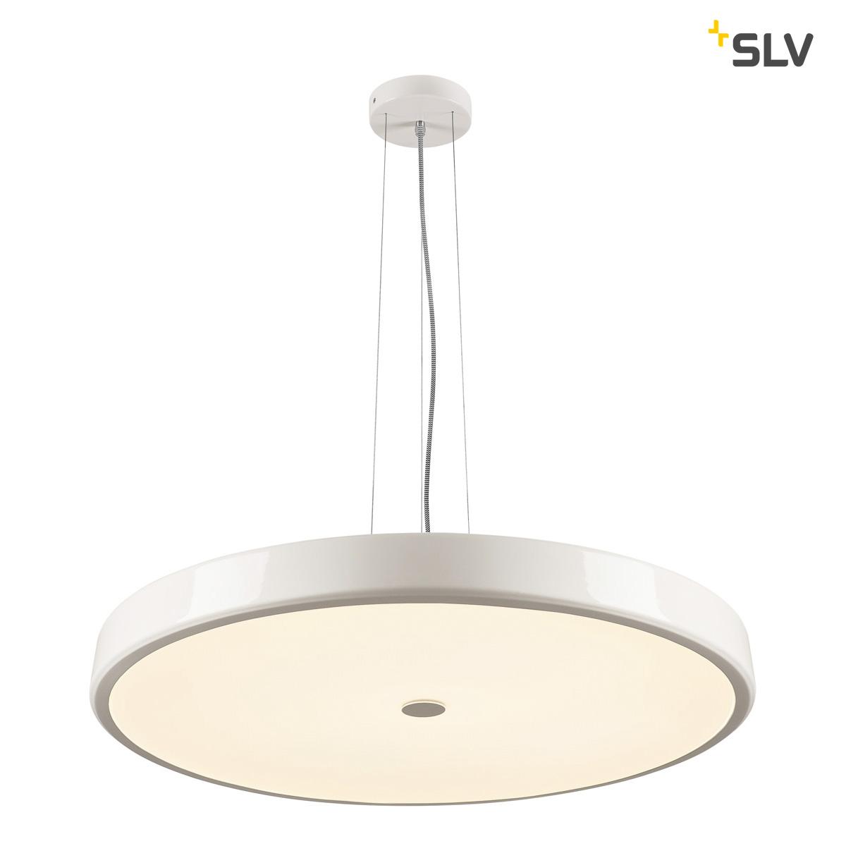 slv 133351 sphera pendelleuchte led 2700k rund wei gefrostetes acrylglas 75cm. Black Bedroom Furniture Sets. Home Design Ideas