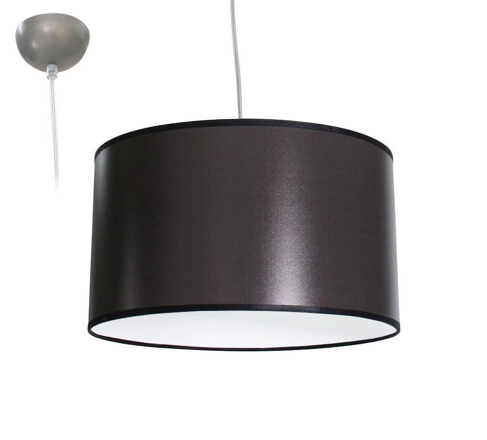 bioledex aniso pendelleuchte stoff design grau e27 35cm l110920. Black Bedroom Furniture Sets. Home Design Ideas