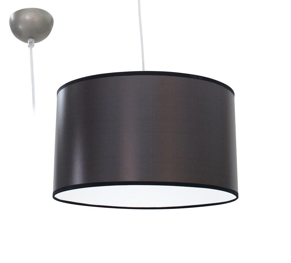 bioledex aniso pendelleuchte stoff design hell grau e27 35cm l110922. Black Bedroom Furniture Sets. Home Design Ideas