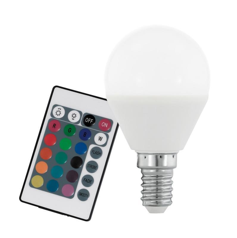 eglo 10682 led e14 tropfenlampe rgb 4w dimmbar mit. Black Bedroom Furniture Sets. Home Design Ideas