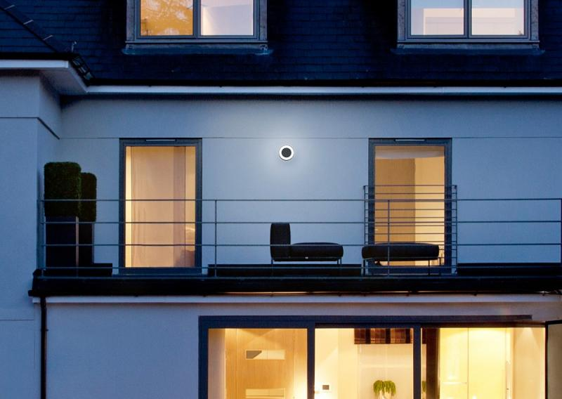 LED Außenleuchte LEDVANCE Outdoor Surface Round Dark Grey 13W