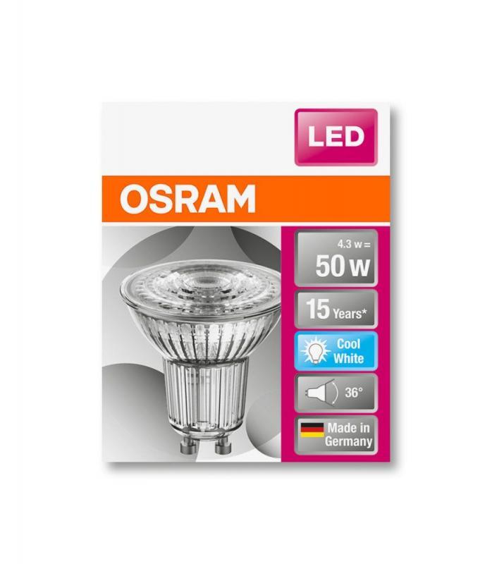 Osram Led Star Par16 : osram led star par16 50 36 4 5w 4000k gu10 led strahler fs ~ Watch28wear.com Haus und Dekorationen