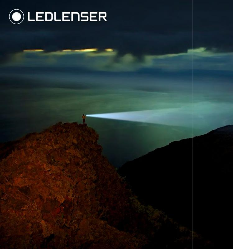 Ledlenser Ladestation mit 14500 li-ion wiederaufladbarer Batterie