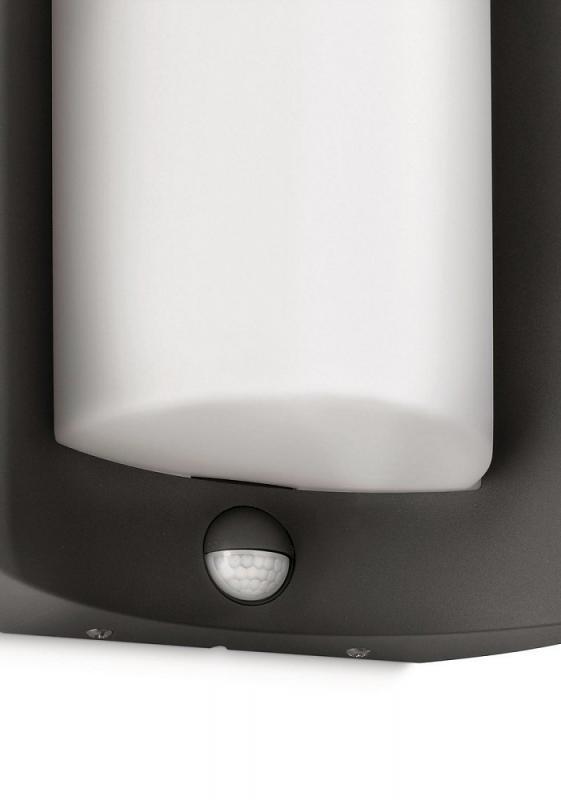 philips ecomoods meander 164059316 sensor es aussenleuchte anthrazit. Black Bedroom Furniture Sets. Home Design Ideas